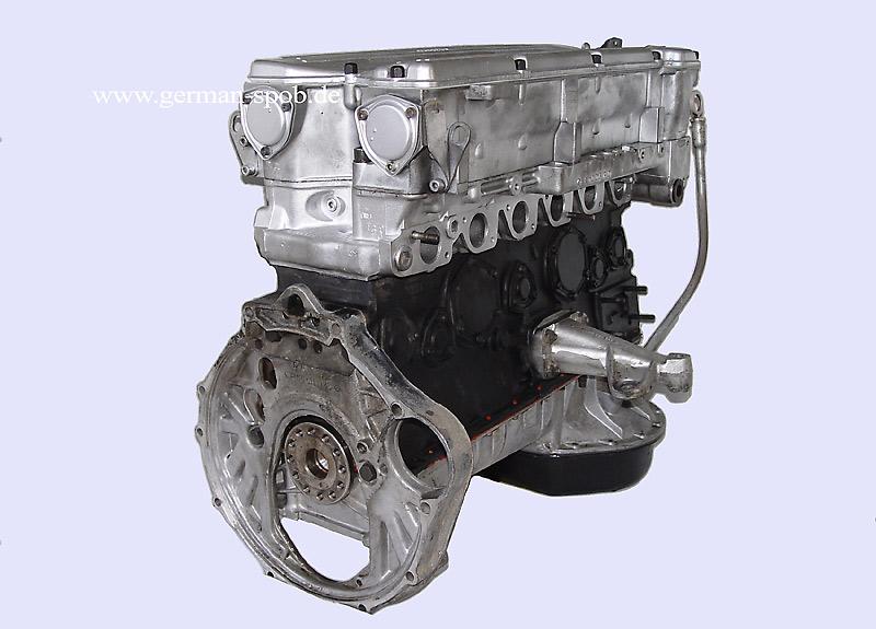 A1100101744 Engine Shortblock M110 280s Carburetor Regenerated 2 Mercedes Benz