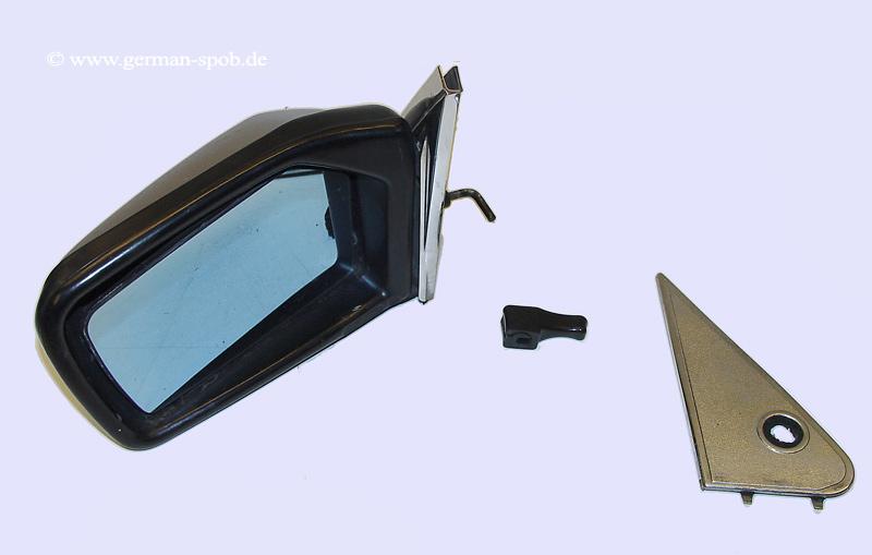 spiegel t r links mechanisch mercedes benz a1238100516 1238100516 a1238100516. Black Bedroom Furniture Sets. Home Design Ideas
